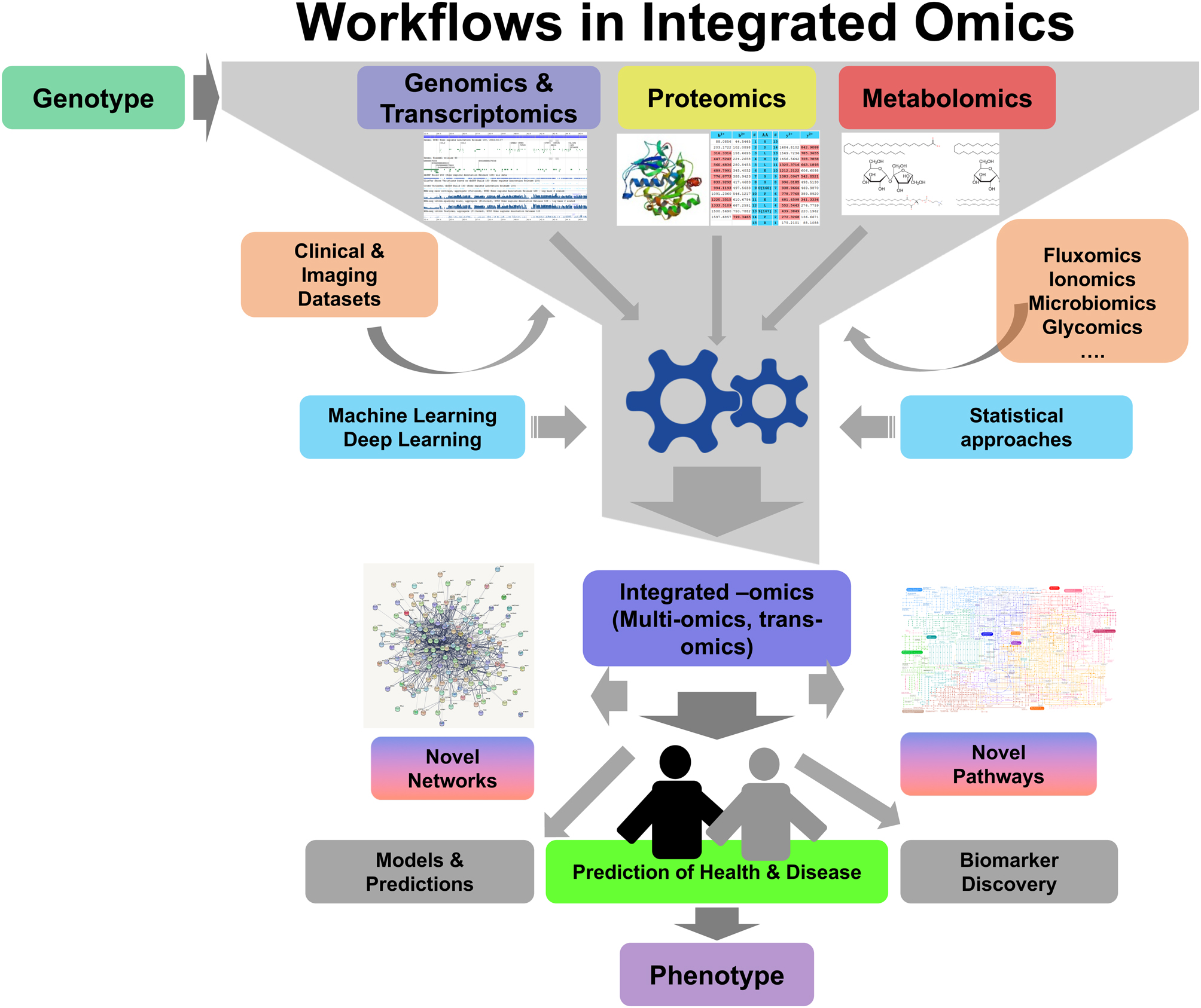 Integrated omics: tools, advances and future approaches in